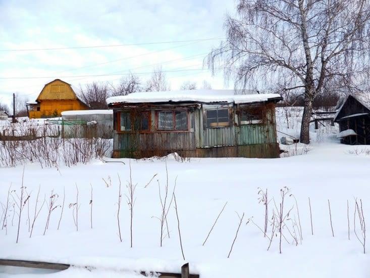 ... et découvert la petite maison au bord de la Kama