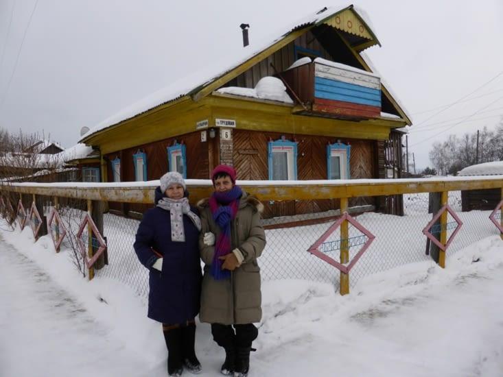 La petite maison d'Ela et Slava
