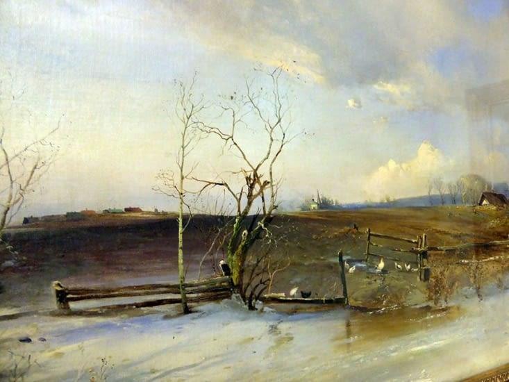 Alexei Savrasov 1893. Les russes sont les peintres de la lumière.