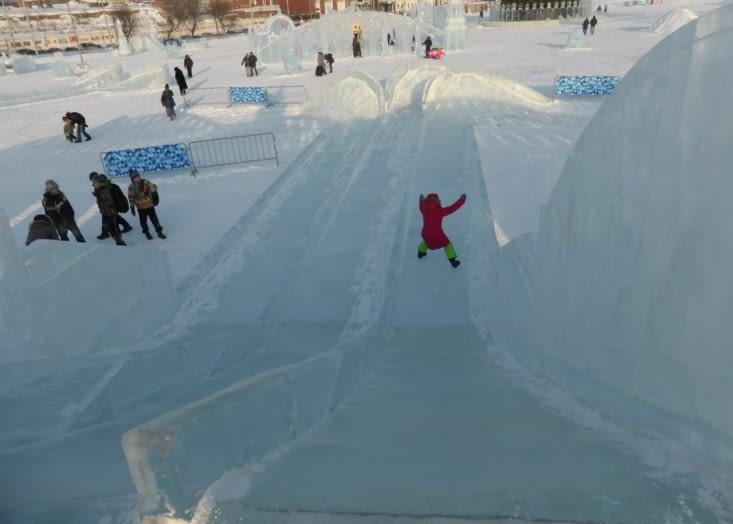 Pas de problèmes de sécurité. Les enfants font les fous et la glace est dure. J'ai testé.