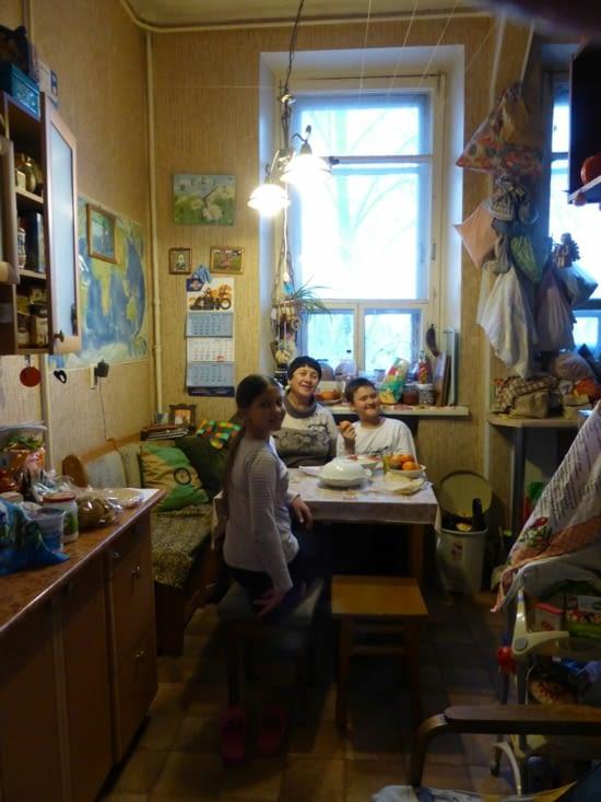 Une après-midi dans un immeuble de l'époque stalinienne
