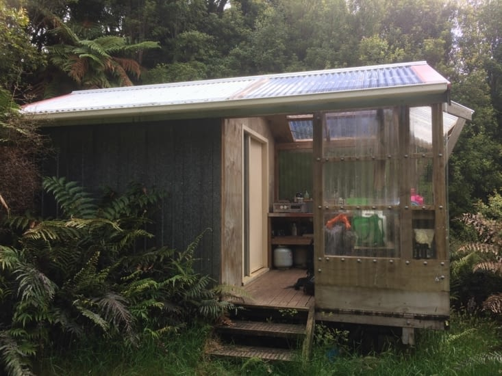 la hutte de la forêt Mataraua