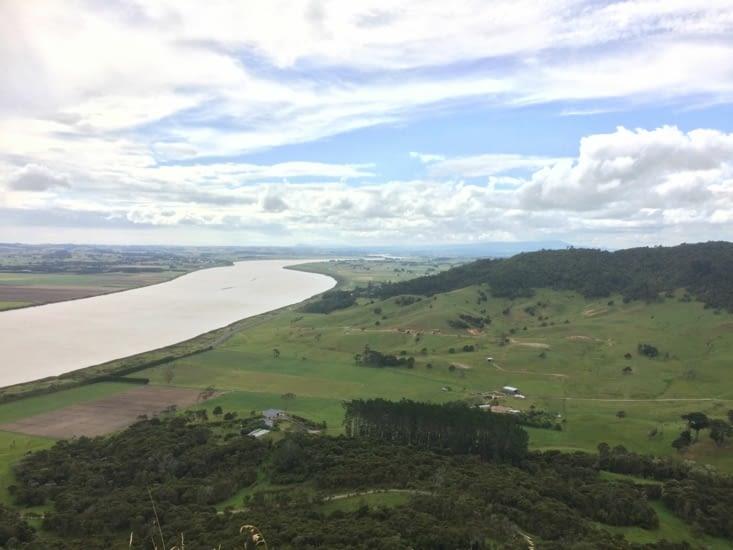 vue depuis le pic tokatoka