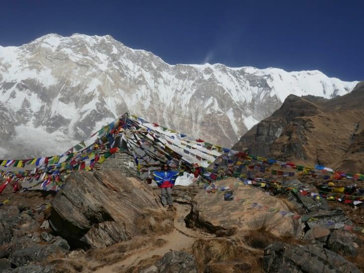 Au pied de l'Annapurna South