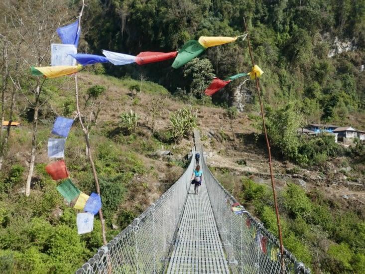 Des ponts, attention au vertige !