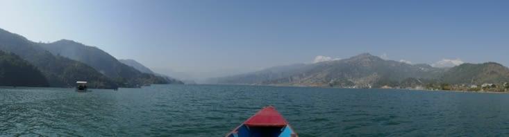 Le lac Phewa Tal