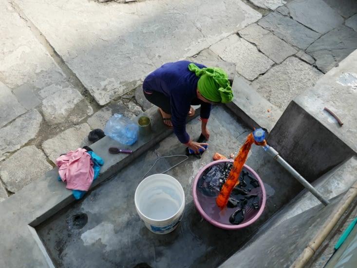 Nettoyage du linge