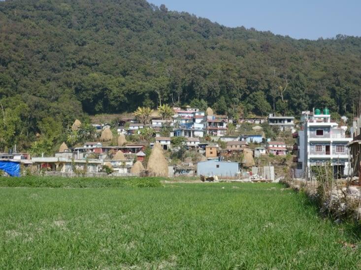 Village au sud de Pokhara