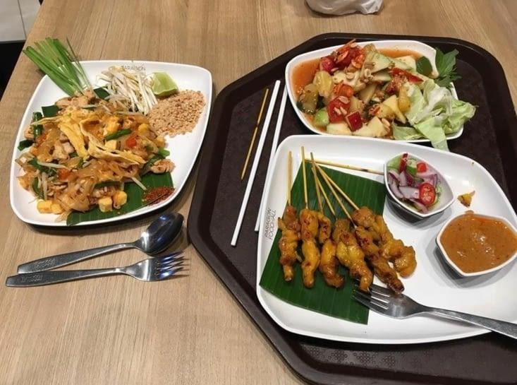 Les delices de Thailande