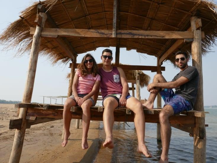 Au bord du Mekong