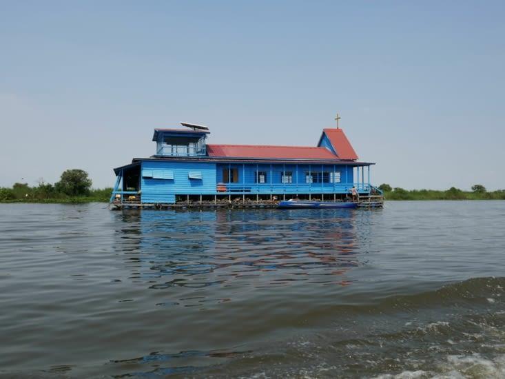 L'église flottante