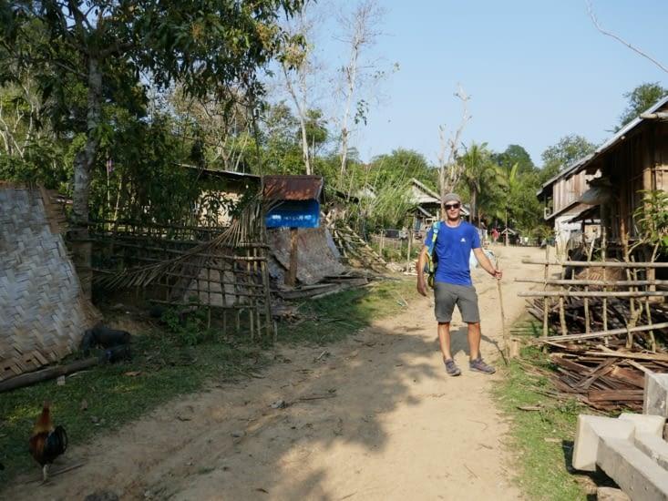 Arrivée au Village Houay Sen