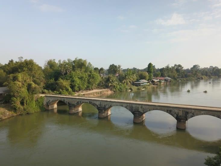 Le pont Francais vu du drone