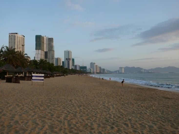 Le front de mer et sa plage