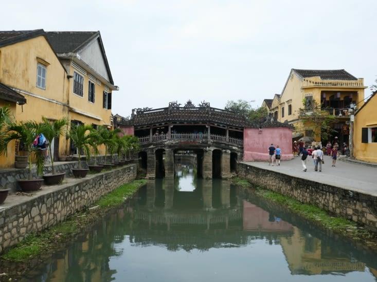 Le pont couvert Japonais
