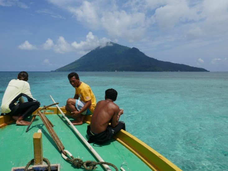 Bunaken en vue