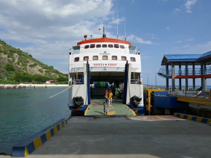 Ferry pour se rendre au milieu de nulle part