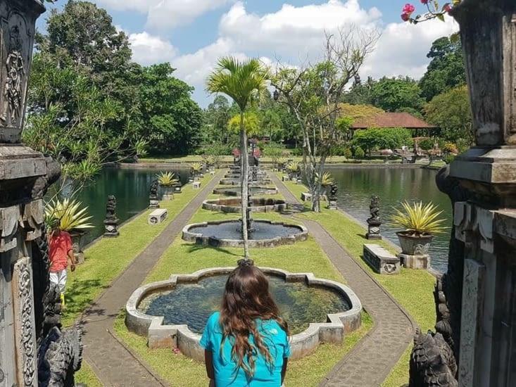 le palais aquatique Tirta Gangga