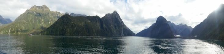 Croisière sur les fjords de Milford Sound