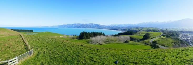 Kaikoura vue panoramique
