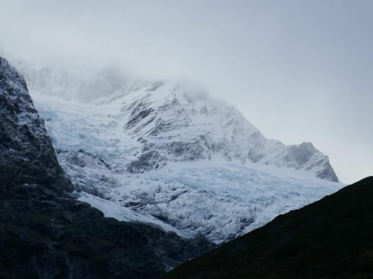 Le glacier Rob Roy