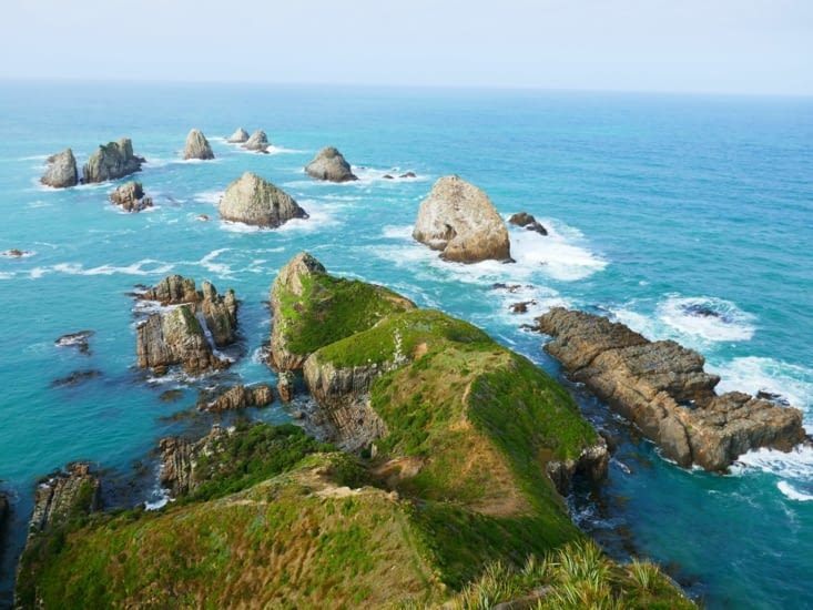 Nugget Point et ses catlins