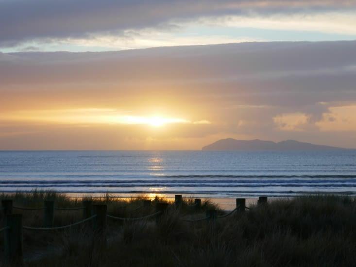 Notre dernier levée de soleil en Nouvelle Zélande