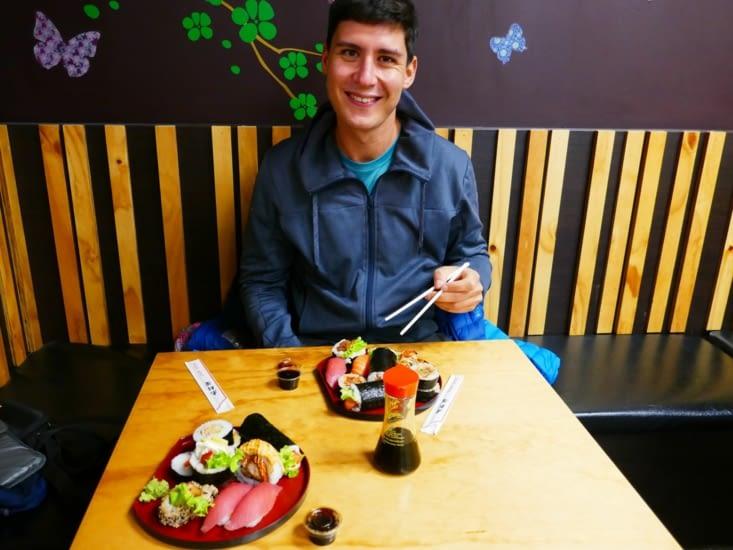 Petit sushi avant de partir