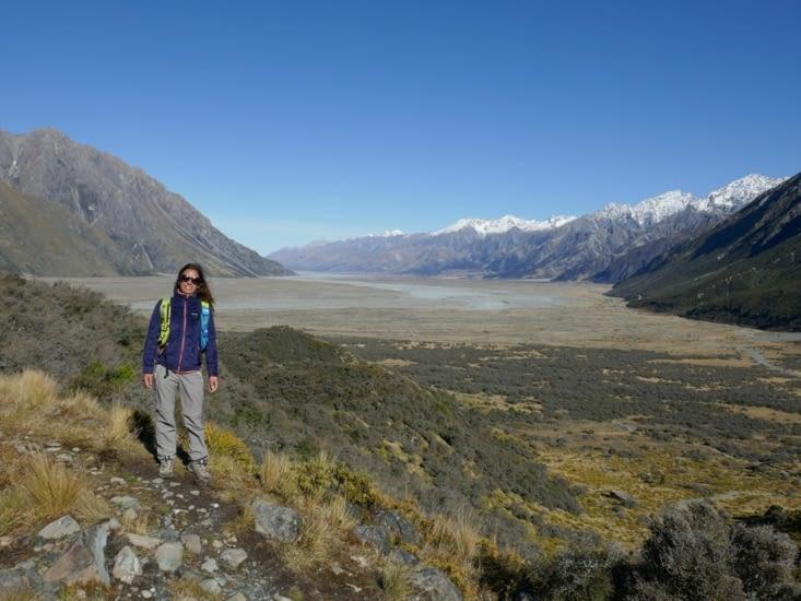 Randonnée du Tasman glacier