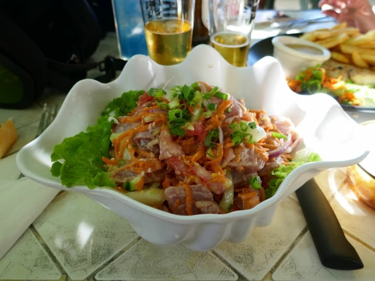 La nourriture Polynésienne