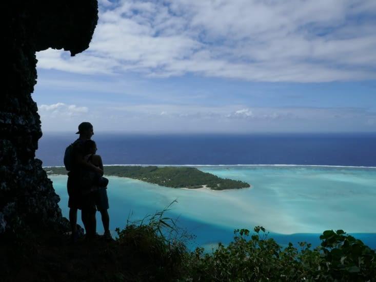 Randonnée au sommet de Maupiti