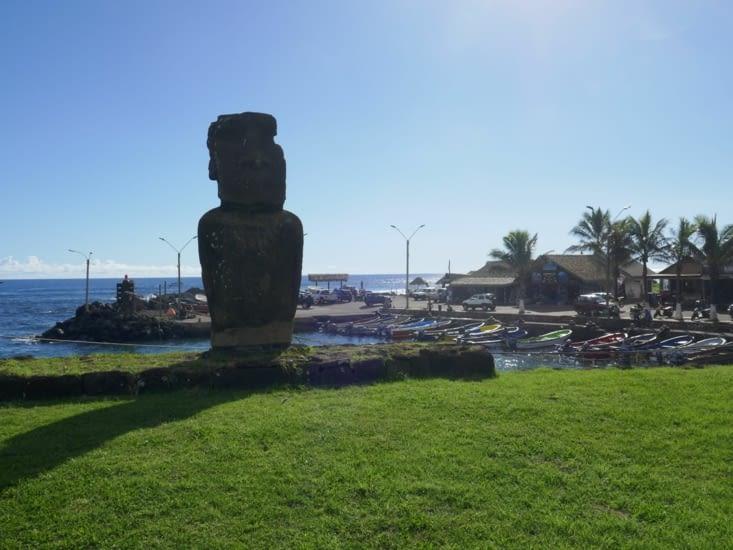 Le port de l'île