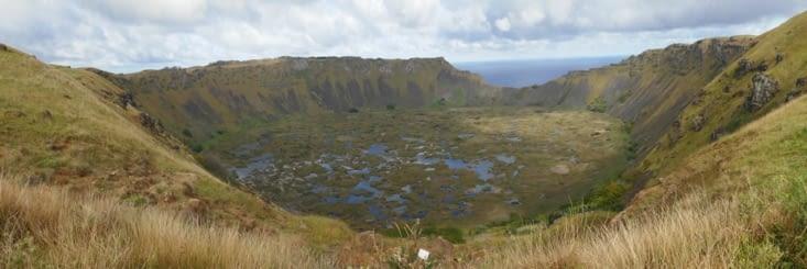 Volcan de Rano Kau