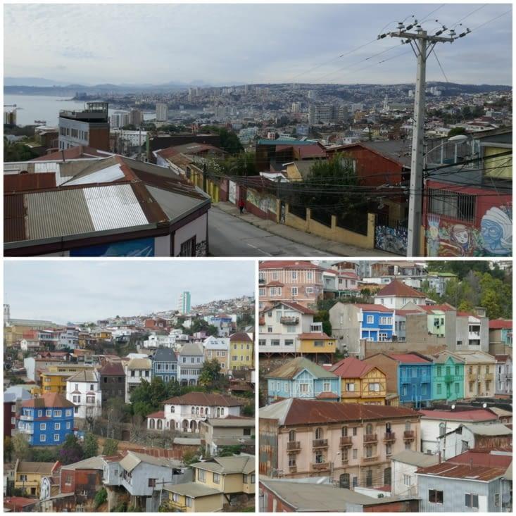 La cuidad de Valparaiso