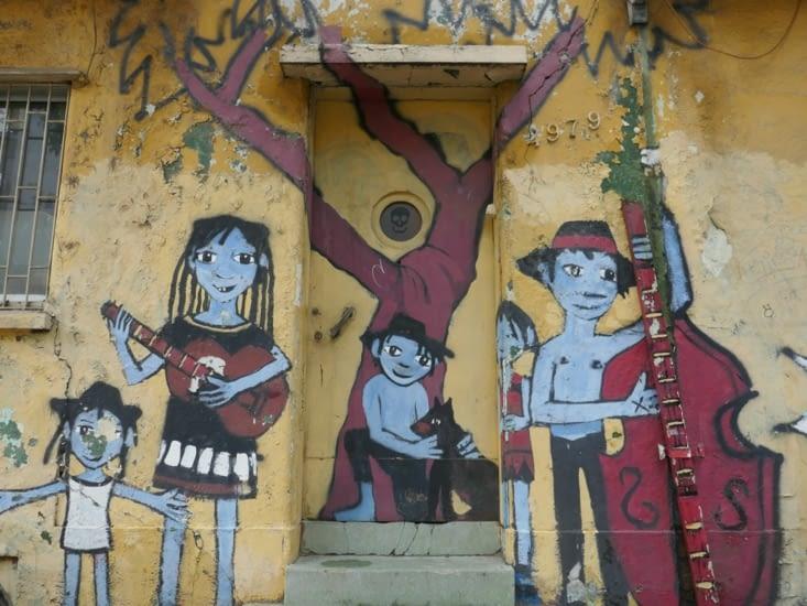 Les petits musiciens Chiliens