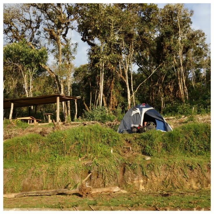 Jour 3: Notre camp