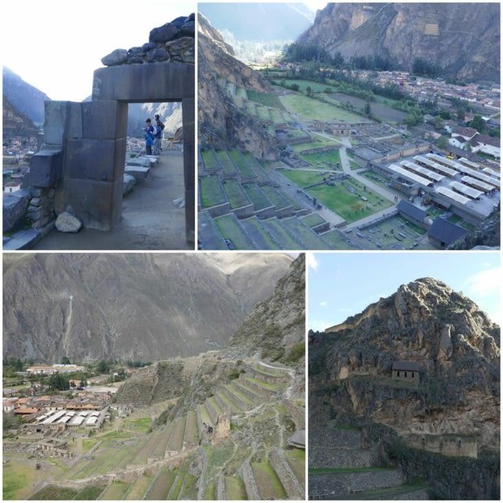 La vallée des Incas - Ollantaytambo