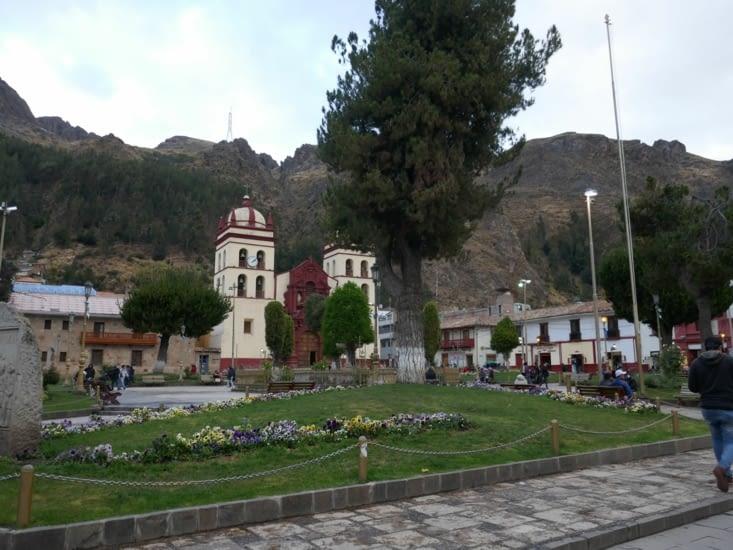 La ville Huancavelica