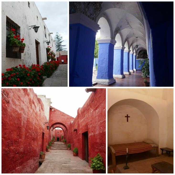 Le couvent de Santa Catalina