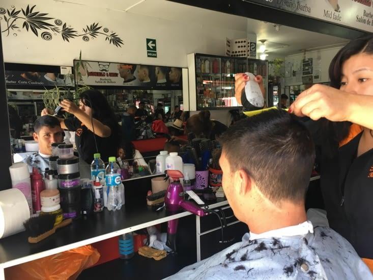Petite pause coiffeur