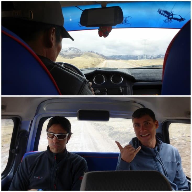 Tour en taxi