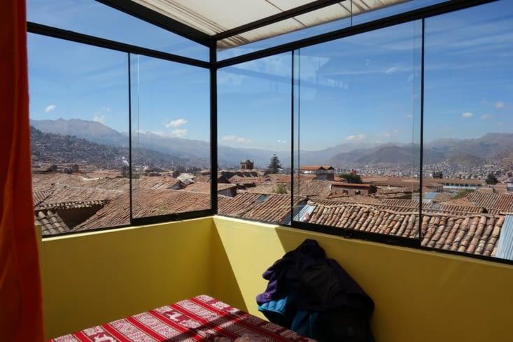 Vue sur les toits de Cusco