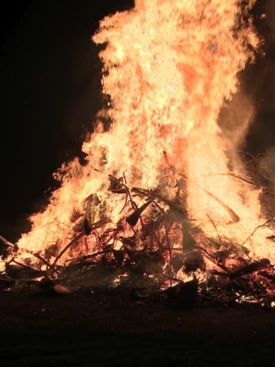 Le feu de camp