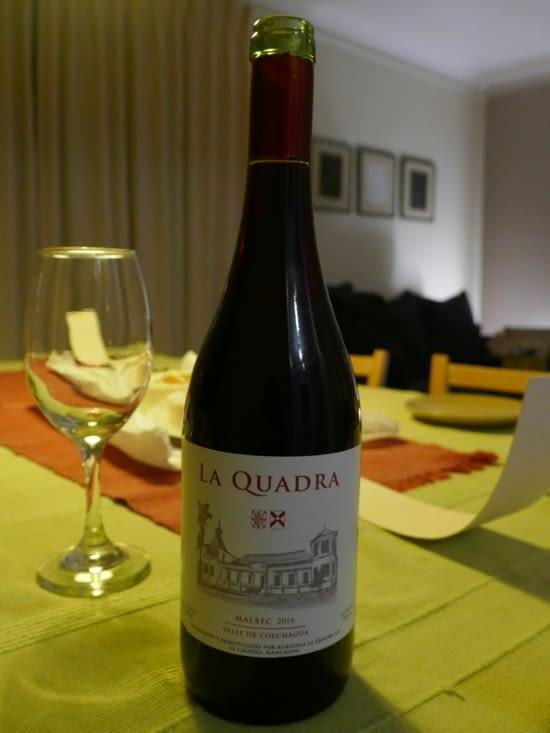 Le vin Quadra de José