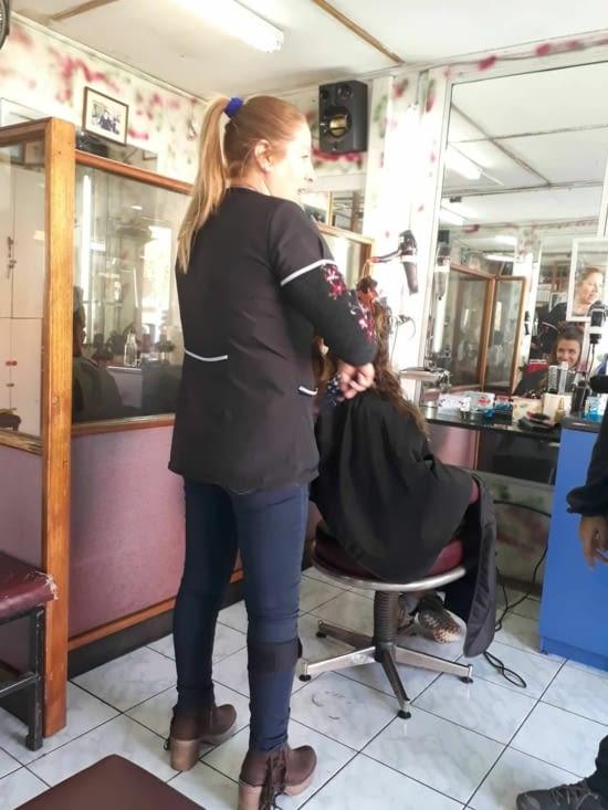 séance coiffeur