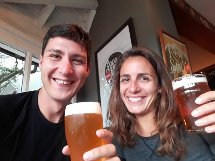 Bière Namush, santé!