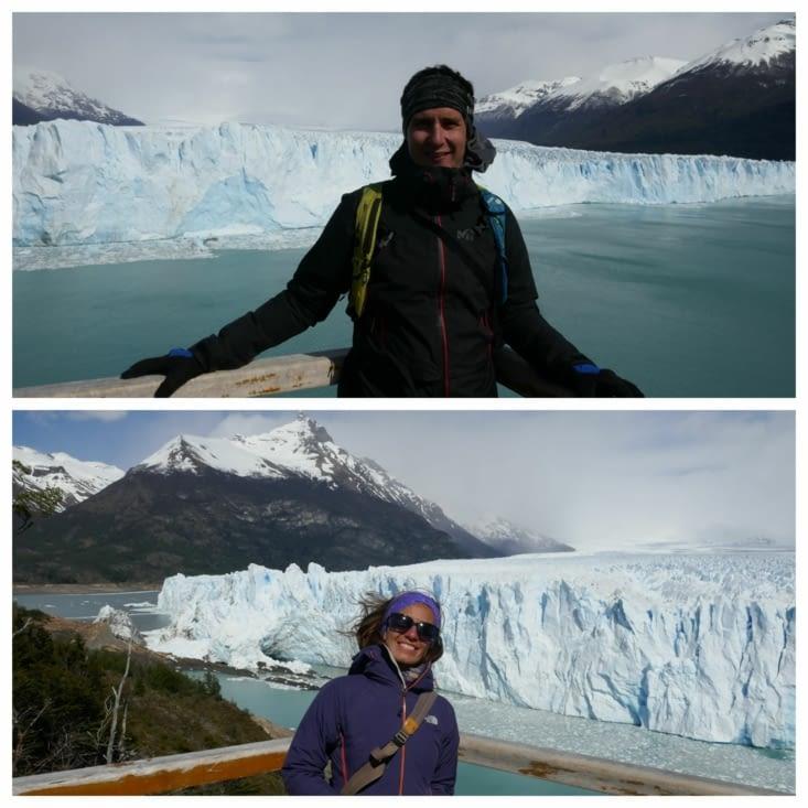 Le glacier sous toutes les coutures et nous avec ;)