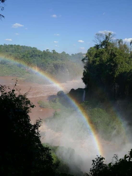 Les chutes Iguazu - coté Argentine