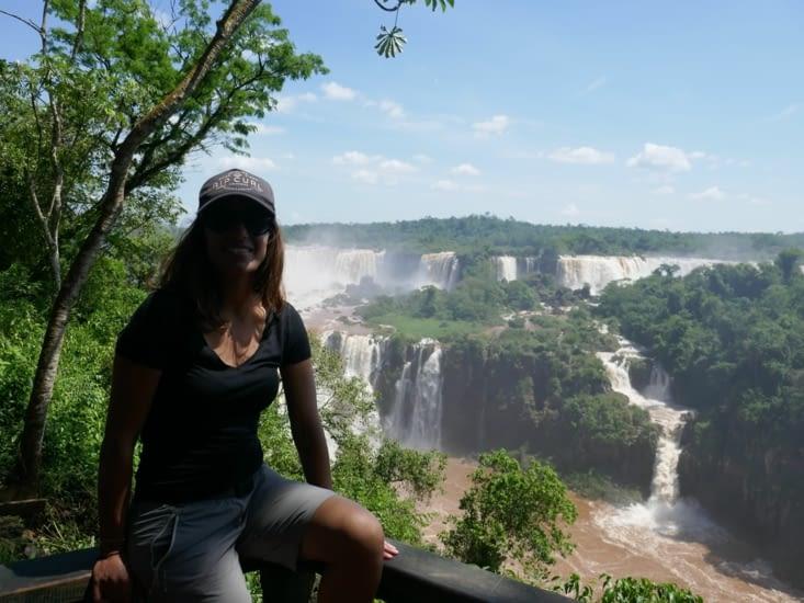 Les chutes Iguazu - coté Brésil