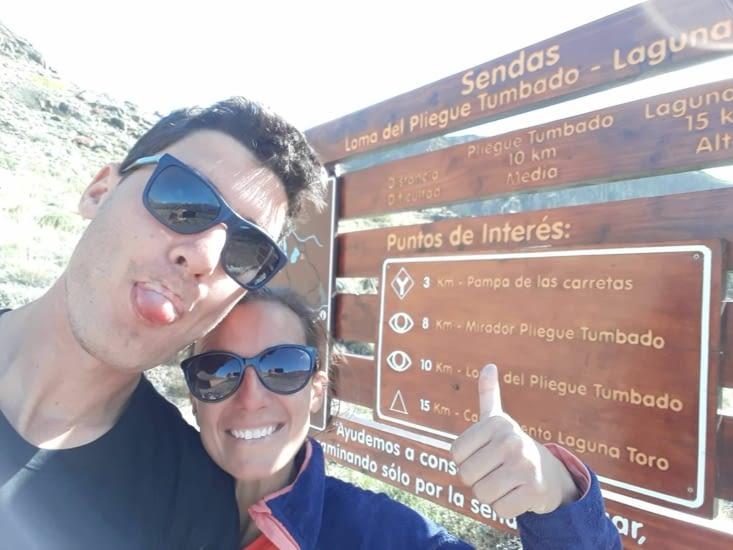 Randonnée Loma del pliegue Tombado